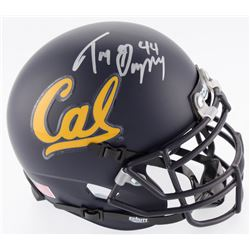 Tony Gonzalez Signed California Golden Bears Mini-Helmet (JSA COA)