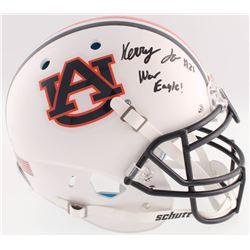 "Kerryon Johnson Signed Auburn Tigers Full-Size Authentic On-Field Helmet Inscribed ""War Eagle!"" (Rad"