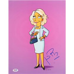 Joan Rivers Signed  The Simpsons  11x14 Photo (PSA COA)