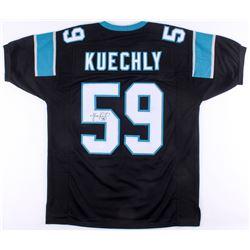 Luke Kuechly Signed Panthers Jersey (JSA COA)