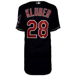 "Corey Kluber Signed Indians Jersey Inscribed ""14/17 AL CY"" (Fanatics Hologram)"