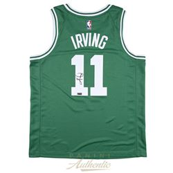 Kyrie Irving Signed Celtics Jersey (Panini COA)