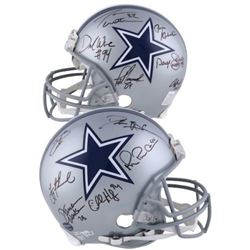 LE Cowboys Legends Full-Size Authentic On-Field Helmet Team-Signed By (12) With Emmitt Smith, Jason