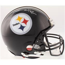 Antonio Brown Signed Steelers Full-Size On-Field Helmet (JSA COA)