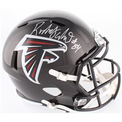 Roddy White Signed Falcons Full-Size Speed Helmet (Beckett COA)