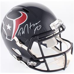 DeAndre Hopkins Signed Texans Full-Size Speed Helmet (JSA COA)