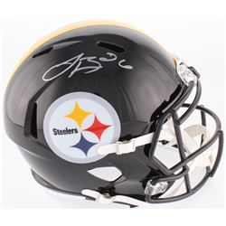Le'Veon Bell Signed Pittsburgh Steelers Full-Size Speed Helmet (JSA COA)