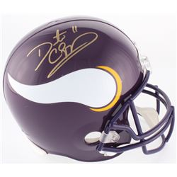 Daunte Culpepper Signed Vikings Full-Size Helmet (Beckett COA)
