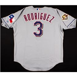 Alex Rodriguez Signed Rangers Rawlings Jersey (UDA COA)