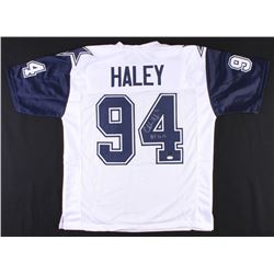 "Charles Haley Signed Cowboys Jersey Inscribed ""HOF 2015"" (JSA COA  Radtke COA)"