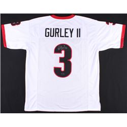 Todd Gurley Signed Georgia Bulldogs Jersey (Radke COA)