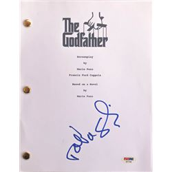 "Talia Shire Signed ""The Godfather"" Full Movie Script (PSA COA)"