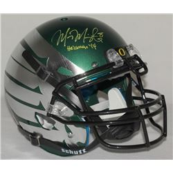 "Marcus Mariota Signed Oregon Ducks Limited Edition Full-Size Authentic On-Field Helmet Inscribed ""He"