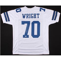 "Rayfield Wright Signed Cowboys Jersey Inscribed ""HOF 06"" (JSA COA)"