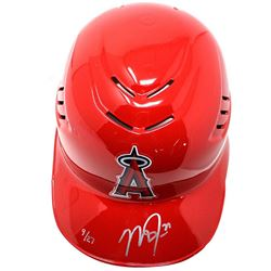 Mike Trout Signed Angels Limited Edition Full-Size Authentic On-Field Batting Helmet (Steiner COA)