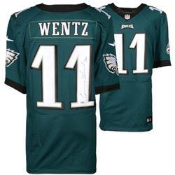 "Carson Wentz Signed Eagles Nike Elite Jersey Inscribed ""AO1"" (Fanatics Hologram)"
