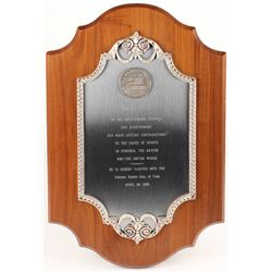 Lou Creekmur 14x21 Hall of Fame Plaque