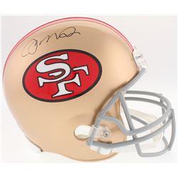 Joe Montana Signed 49ers Full-Size Helmet (JSA COA)