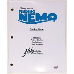 Albert Brooks Signed  Finding Nemo  Full Movie Script (PSA COA)