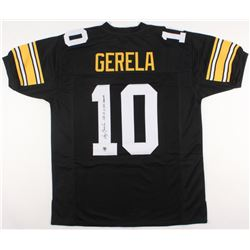 "Roy Gerela Signed Steelers Jersey Inscribed ""SB IX, X, XIII Champs"" (Jersey Source COA)"