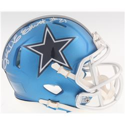 Ezekiel Elliott Signed Speed Blaze Cowboys Mini-Helmet (Beckett COA)