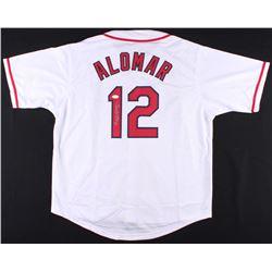 Roberto Alomar Signed Indians Jersey (JSA COA)
