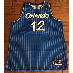 Dwight Howard Signed Magic Limited Edition Throwback Jersey (UDA Hologram)