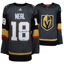 James Neal Signed Golden Knights Adidas Jersey (Fanatics Hologram)
