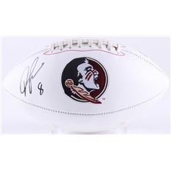 Devonta Freeman Signed Florida State Seminoles Logo Football (Radtke COA)