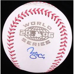 Yadier Molina Signed 2006 World Series Baseball (MLB Hologram)