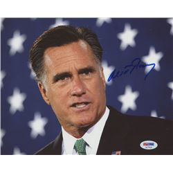 Mitt Romney Signed 8x10 Photo (PSA Hologram)