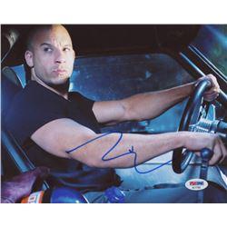 Vin Diesel Signed  Fast  Furious  8x10 Photo (PSA COA)