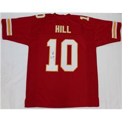 Tyreek Hill Signed Chiefs Jersey (JSA COA)