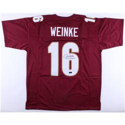"Chris Weinke Signed Florida State Seminoles Jersey Inscribed ""2000 Heisman"" (Radtke COA)"