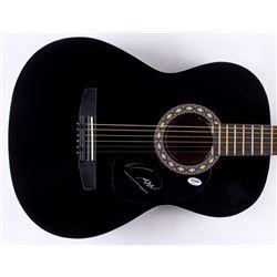 Barry Gibb Signed Full-Size Rogue Acoustic Guitar (PSA COA)