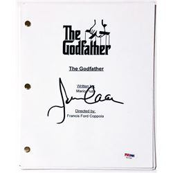 "James Caan Signed ""The Godfather"" Full Movie Script (PSA COA)"