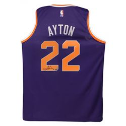 Deandre Ayton Signed Suns Nike Jersey (Game Day Legends COA  Steiner COA)