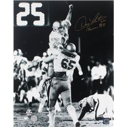 "Doug Flutie Signed Boston College Eagles 16x20 Photo Inscribed ""Heisman 84"" (JSA COA  Flutie Hologra"