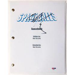"""Bill Pullman Signed """"Spaceballs"""" Full Movie Script (PSA COA)"""