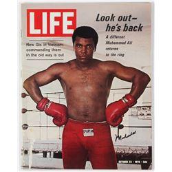 Muhammad Ali Signed 1970 Life Magazine (JSA ALOA)