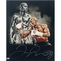 Floyd Mayweather Jr. Signed 16x20 Photo (Beckett COA)