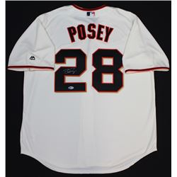 Buster Posey Signed Giants Jersey (Beckett COA)