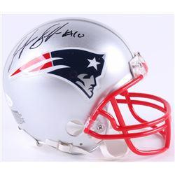 Josh Gordon Signed Patriots Mini-Helmet (JSA COA)