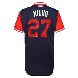 "Mike Trout Signed LE Angels Players Weekend ""Kiiiiid"" Jersey Inscribed ""Kiiiiid"" (Steiner COA  MLB H"