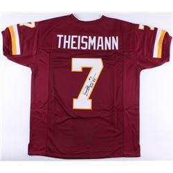 "Joe Theismann Signed Redskins Jersey Inscribed ""MVP 83"" (JSA COA)"