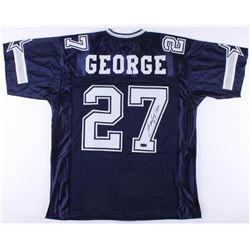 Eddie George Signed Cowboys Jersey (Radtke COA)