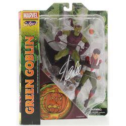 """Stan Lee Signed """"Green Goblin"""" Marvel Select Action Figure (Radtke COA  Lee Hologram)"""