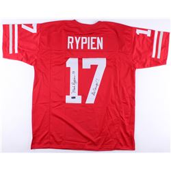 "Mark Rypien Signed Washington State Cougars Jersey Inscribed ""Go Cougs!!"" (Radtke COA)"