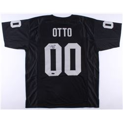 "Jim Otto Signed Raiders Jersey Inscribed ""H.O.F. 1980"" (Radtke COA)"