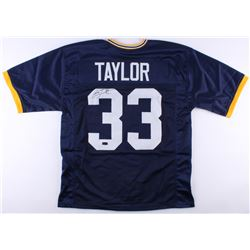 Jason Taylor Signed Akron Zips Jersey (Radtke COA)